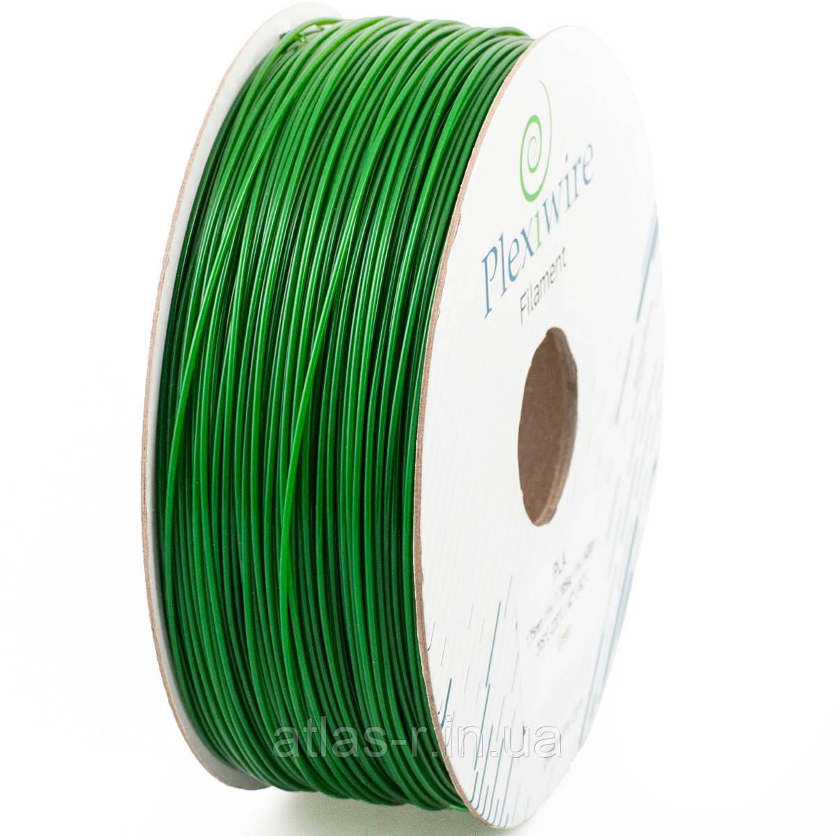 PLA 1.75 мм, 400 м, 1,185 кг зеленый