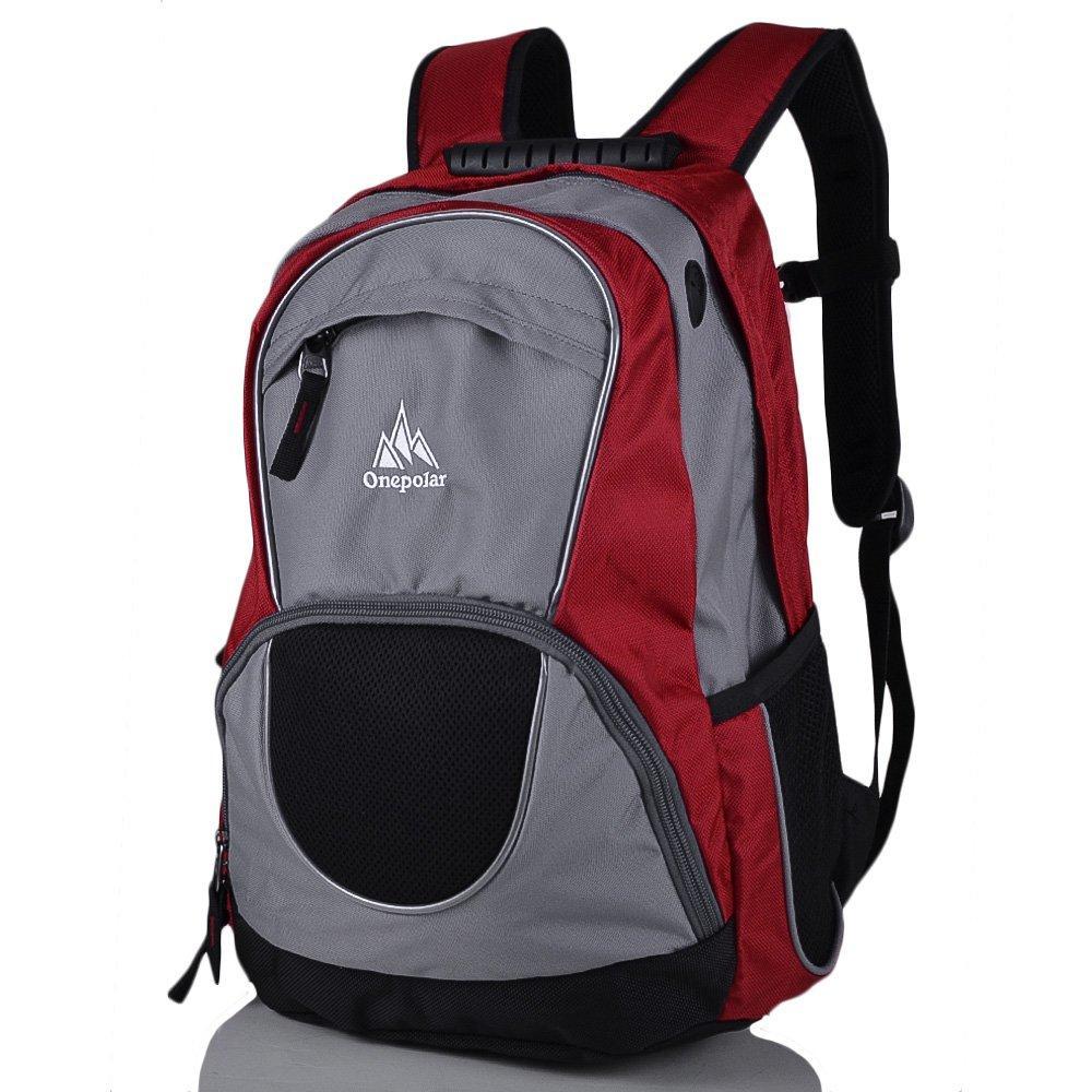 Женский рюкзак ONEPOLAR (ВАНПОЛАР) W1674-red