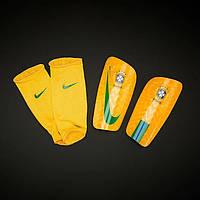 Футбольные щитки Nike Brasil CBF Mercurial Lite , фото 1