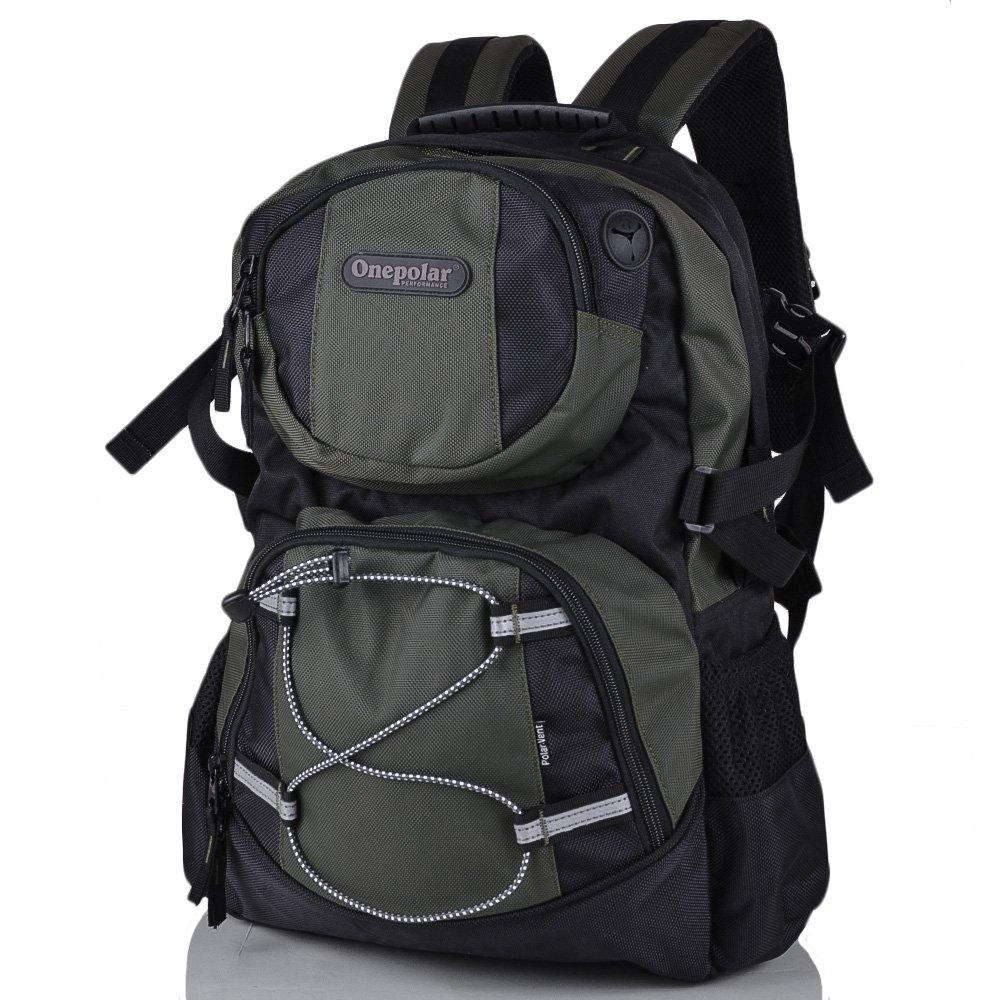 Мужской рюкзак для ноутбука ONEPOLAR (ВАНПОЛАР) W1312-green