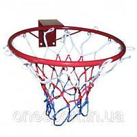 Баскетбольне кільце Newt 450 мм сітка в комплекті, фото 1