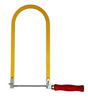 Лобзик для работ по дереву 140х260мм + 2 пилочки / 41-331, 140х260 мм + 2 пилочки