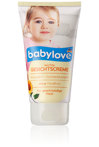 Детский крем для лица Babylove Gesichtscreme