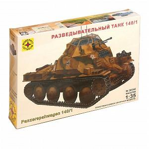 Сборная модель «Разведывательный танк» 303543. Масштаб 1:35