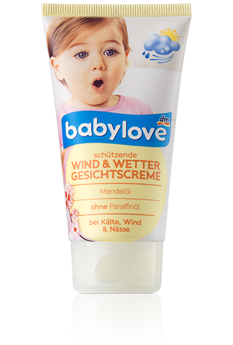 Детский крем для лица Babylove Wind & Wetter