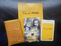 Женский мини-парфюм в кожаном чехле Fendi Fan di Fendi 20ml 2e0b7512a0419