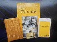 Женский мини-парфюм в кожаном чехле Fendi Fan di Fendi 20ml