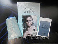 Женский мини-парфюм в кожаном чехле Armani Acqua di Gioia 20ml