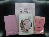 Женский мини-парфюм в кожаном чехле Chanel Chance Eau Tendre 20ml