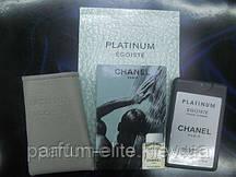 Пробник духов в кожаном чехле Chanel Platinum Egoiste Man 20ml