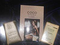 Женский пробник духов в кожаном чехле Chanel Coco Mademoiselle 20ml