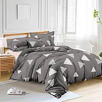 Двуспальный комплект постельного белья евро 200*220 сатин (10286) TM КРИСПОЛ Украина