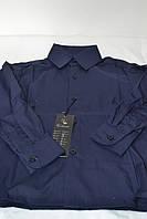 Детская  синяя рубашка VALENSIA (размеры 29.30)