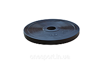 Диск стальной обрезиненный 10 кг - 51 мм