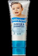 Детский гель для душа + шампунь Babylove Pantnenol
