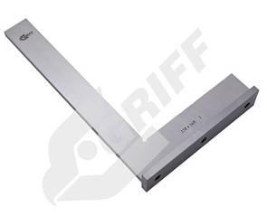 Угольник УШ 400х250 поверочный слесарный с широким осн. кл.1 (GRIFF)