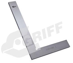 Угольник УП 160х100 поверочный слесарный плоский кл.2 (GRIFF)