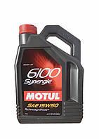 MOTUL 6100 Synergie 15W-50 4л.