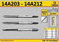 Набор метчиков M4, n-3шт,  TOPEX  14A204