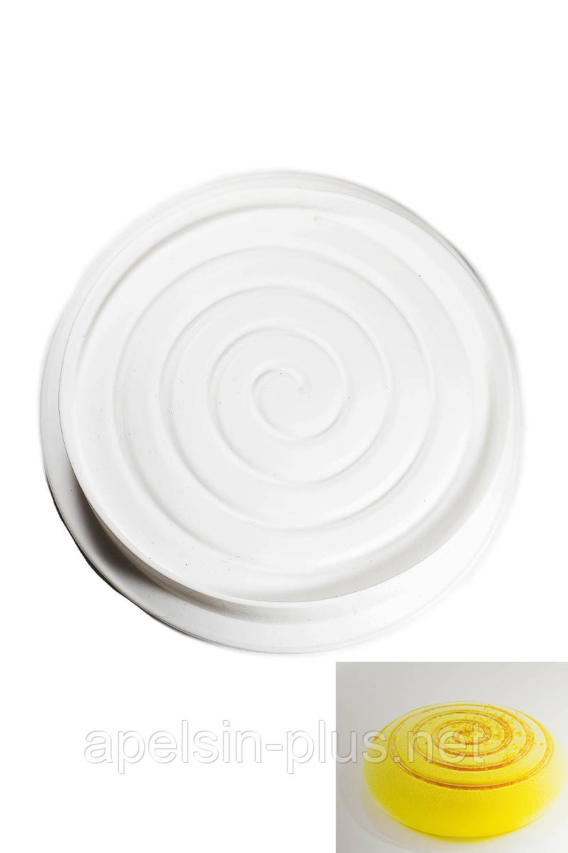 Силиконовая форма для муссовых тортов Spiral 22 см 6 см