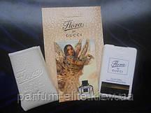 Женский мини-парфюм в кожаном чехле Gucci Flora by Gucci 20ml