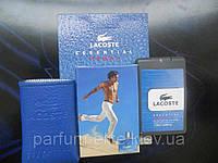 Мужской мини-парфюм  в кожаном чехле Lacoste Essential Sport Man 20ml
