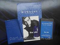 Пробник духов в кожаном чехле Givenchy Blue Lable Man 20ml
