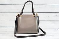Женская mini сумка, черный графит, фото 1