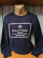"Мужской батник ""Philipp Plein"" (M-XXL) купить оптом со склада"