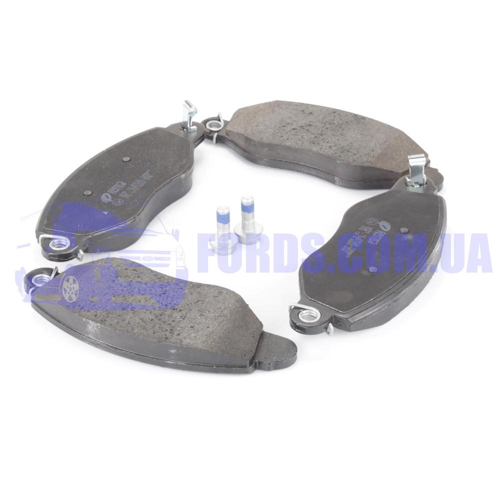 Колодки тормозные передние FORD TRANSIT 2000-2006 (FWD) (1465168/1C1J2K021AC/0772.12) REMSA