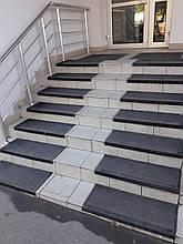 Протиковзка гумова накладка на ступені (75х33см)