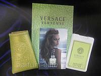 Женский мини-парфюм в кожаном чехле Versace Versense 20ml