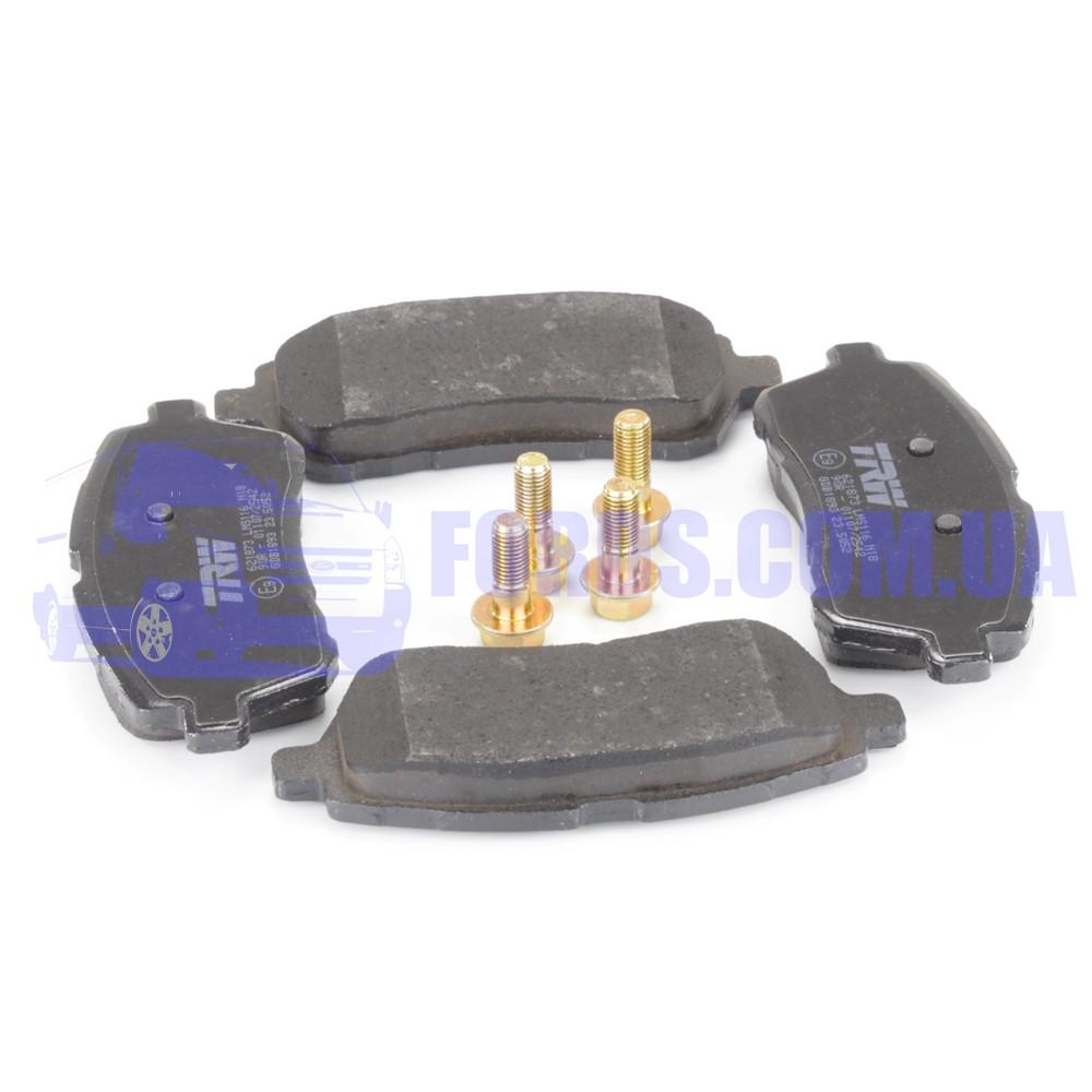Колодки тормозные передние FORD FIESTA 2008- (1855307/8V512K021BB/GDB1893) TRW
