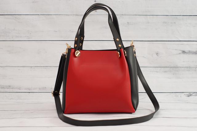 Женская красная mini сумка