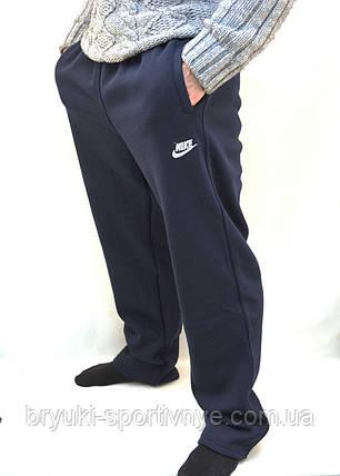 Штаны спортивные Nike в больших размерах - зима, фото 2