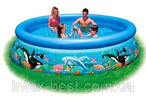 Надувной бассейн «Ocean reef easy set pool» Intex 28124 (54900) (305х76см), фото 2