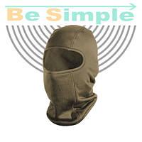 Балаклава с начесом. Функциональная шлем-маска для защиты лица Оливковая