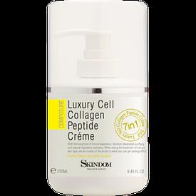 Крем коллагеновый длялица сэлитными клеточными пептидами Luxury Cell Collagen Peptide Cream 250 мл