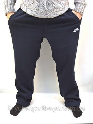 Штаны спортивные зимние Nike в больших размерах, фото 2