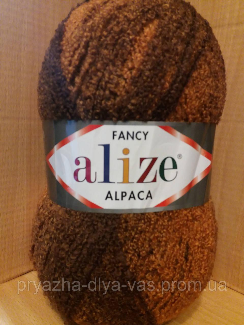 Фантазийная пряжа Alize RAINBOW (350 г/875 м, 15%-альпака, 15%-шерсть, 10%-полиэстер, 60%-акрил) 1329