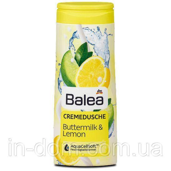 Balea Cremedusche Buttermilk & Lemon-Гель для душа молоко+лимон 300 мл