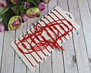 Браслет-оберег красная нить Фламинго 12 шт/уп, фото 3