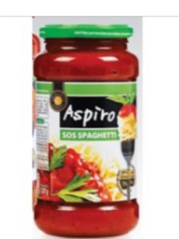Соус Aspiro sos spaghetti 520г, фото 2