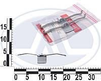 Монтажный комплект перед. колодок Ford Focus C-max/Connect/Renault Megane II 05- | 1091639 | Quick brake