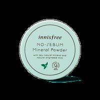 Матирующий минеральный крем для лица Innisfree No-Sebum Powder Cream 25 мл