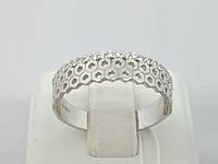 Серебряное кольцо с фианитами. Артикул 10095Р 17,5, фото 1