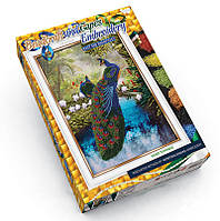 Вышивка лентами и бисером Dankotoys Павлины БВ01Р09, КОД: 257858