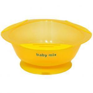 Мисочка с присоской baby mix