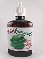 Жидкость для электронных сигарет со вкусом  Зелёное яблоко с дозатором в пластиковой ПЭТ таре ёмкостью 100мл  0мг