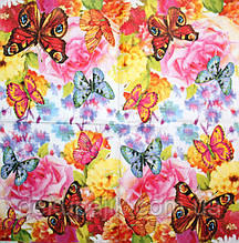 Салфетка декупажная Весёленькие бабочки 2815